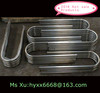 2014 Bent aluminium round tube factory supplier/aluminium bending tubes cut into small length for chairs with drilled holes/OEM