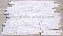 Milky white stone