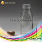 100ml, 200ml, 250ml Mini Milk Glass Bottles