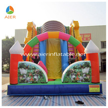 Jumping castle slide outdoor sports children play toy entertainment