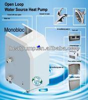 hitachi compressor r410a air source evi heat pump