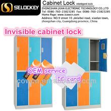 Intelligent electronic hidden invisible RFID locker lock for safe(EM-L1)