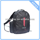 2014 Cheap Black Sports Backpack With Water Bottle Pocket