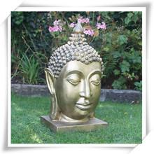 Art design bronze jardim grande estátua de buda