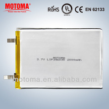 3.7v rechargeable best price battery lithium