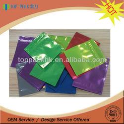 Plastic resealable bag/custom ziplock resealable bag