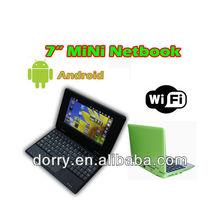 "7"" netbook , netbook pc, 7 inch netbook"