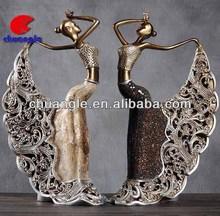 Western crafts supplies, dancer figures