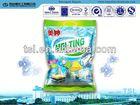 high quality lemon fresh 12% LAS OEM/ODM laundry detergent washing powder tablet D2
