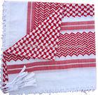 Red/White,Traditional Arab Keffiyeh/Shemagh/Desert Scarf,Arafaat muslim fashion