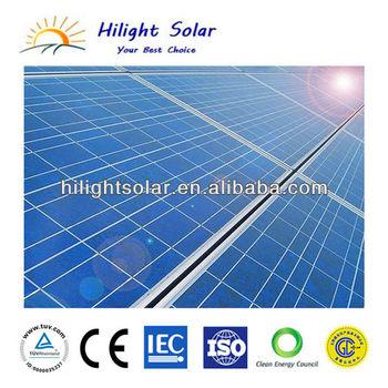 High quality 18v 150W poly solar panel