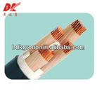 PVC insulated and sheathed external power cable 0.6/1KV