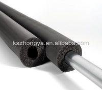 Heat rubber foam insulation tube/pipe material