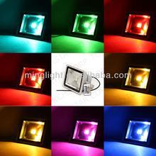 color changing rgb flood light, ce rohs ip65, led mini party light rgb color