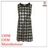 2014 OEM elegant ladies royal simple design top fashion high quality Direct manufacturer designer office wear dress