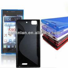 Anti-slide S TPU Case Cover for Lenovo K900 back cover