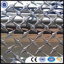bright finish aluminium checkered/diamond plate sheet