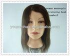 2014 wholesale best hair mannequin head training 100%human hair mannequin head cheap price
