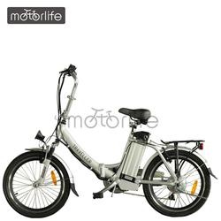 MOTORLIFE/OEM EN15194 2014 HOT SALE 36v 20 inch 250w electric cycle