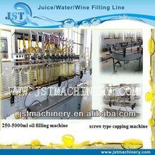 Nueva completo automático de llenado de aceite de girasol de la fábrica