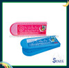 cool plastic pencil case with multifunctional ruler
