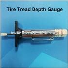 Tire tread depth gauge/Tire repair tool