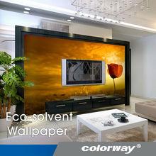 Eco-solvent high quality digital printing wallpaper
