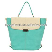 2014 Candy Green Famous Woman Brand Handbag