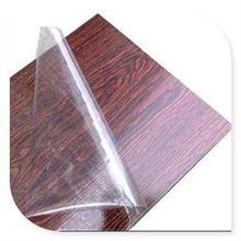 Self adhesive wood panel protective film