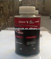 Chemical Vulcanizing Fluid Tyre Repair Rubber Glue Cement