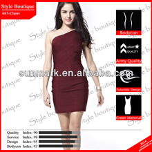 World debut 2014 claret bandage hot sexy girls dresses pakistan in top design