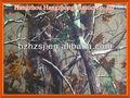 Motif de camouflage realtree peinture enduit de pvc/enduit pu/uillet. tissu enduit
