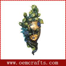 Custom handmade female mask