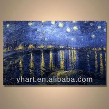 Handmade Modern art purple abstract canvas art