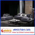 Em-858 design moderno atraente preço de importação de móveis sofa