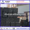 25mm carbonsteel baixo ferro preto tubo de aço quadrado