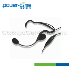 Light weight two way radio headphone for EX500 EX600 EX600XLS EX560XLS GL2000 GP328plus GP338plus GP344(PTE-760)