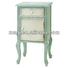 Antique Light Blue Decor French Wood Furniture