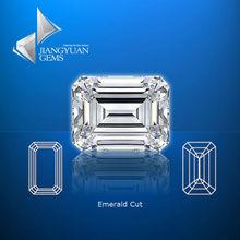 semi precious gemstones radiant cut white synthetic gemstones