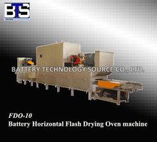 Batteria flash fdo-10 orizzontale asciugatrice forno