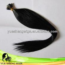 2014 hot-sale jet black shinning hair