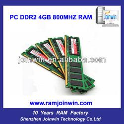 Narrow PCB board full compatible 4gb ddr2 ram stick