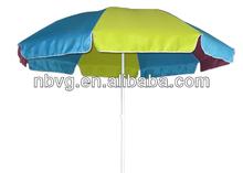 Steel Colorful Beach Umbrella