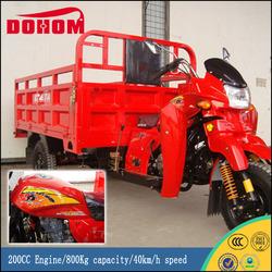Big Powerful 200CC Engine Three Wheel Cargo Motorcycles