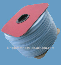 Wool weather strip for aluminium frame