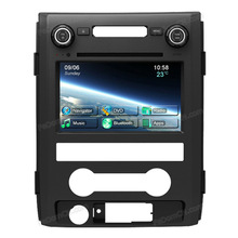 Touch screen Car DVD player for Ford F150 with GPS navigation system Bluetooth iPod USB Control
