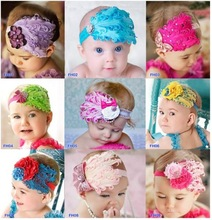 2014 hot sale, baby girls headband wholesale, baby hairband with flower for kids children