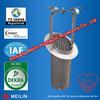 Sintered wire mesh liquid filter bag