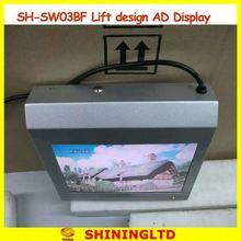 "40"" seamless flat lcd panel did display wall indoor"