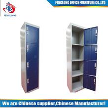 4-door metal locker export singapore, 4 Compartment locker,4 tier steel locker